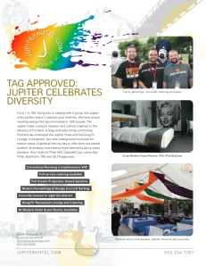 TAG Approved : Jupiter Hotel Celebrates Diversity