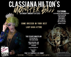 Classiana Hilton Monster Ball